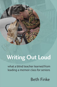 Book cover Writing Out Loud by Beth Finke