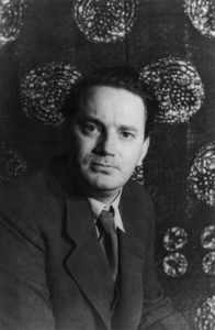 Thomas Wolfe, writer. Max Perkins was his editor.