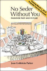 Cover of No Seder Without You by Joan Goldstein Parker